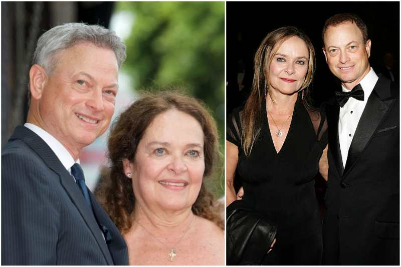 Gary Sinise's family  - wife Moira Jane Harris
