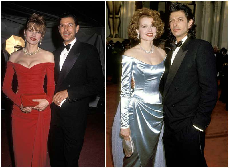 Geena Davis' family - ex-husband Jeff Goldblum