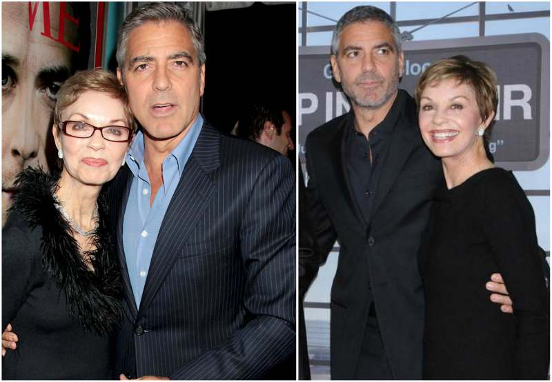 George Clooney's family - mother Nina Bruce Warren