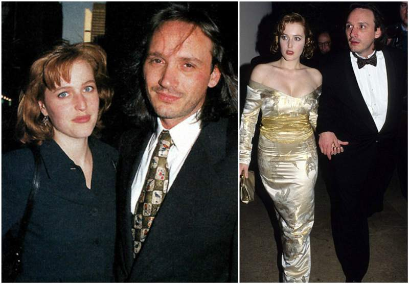 Gillian Anderson's family - ex-husband Clyde Klotz
