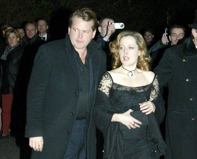Gillian Anderson's family - ex-husband Julian Ozanne