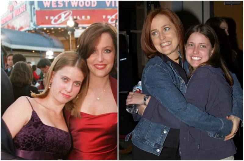 Gillian Anderson's siblings - sister Zoe Anderson