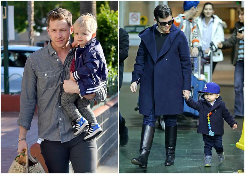 Ginnifer Goodwin and Josh Dallas' children - son Oliver Finlay Dallas