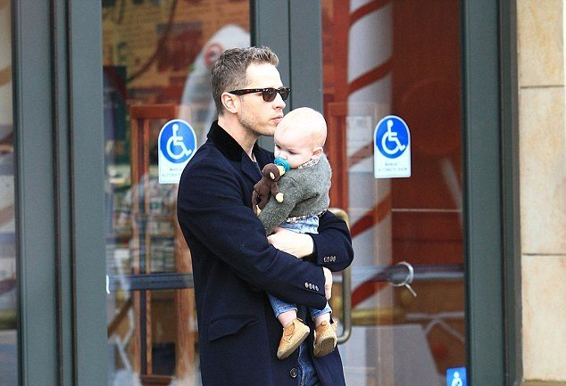 Ginnifer Goodwin and Josh Dallas' children - son Hugo Wilson Dallas