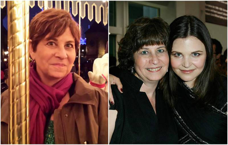 Ginnifer Goodwin's family - mother Linda Goodwin