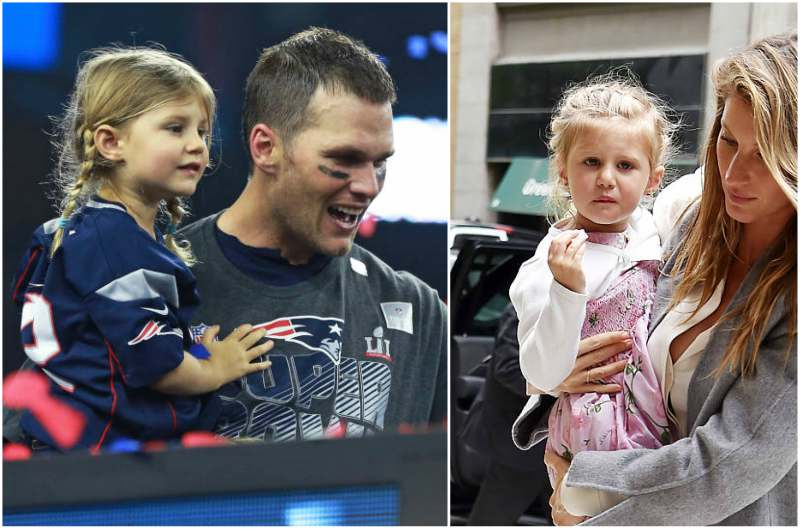 Gisele Bundchen and Tom Brady's children - daughter Vivian Lake Brady