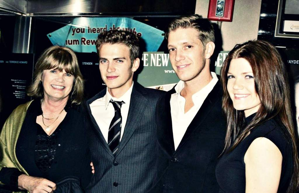 Hayden Christensen's family
