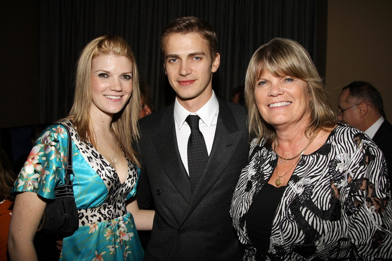 Hayden Christensen's family - mother Alie Nelson