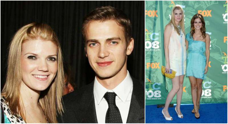 Hayden Christensen's siblings - sister Kaylen Christensen