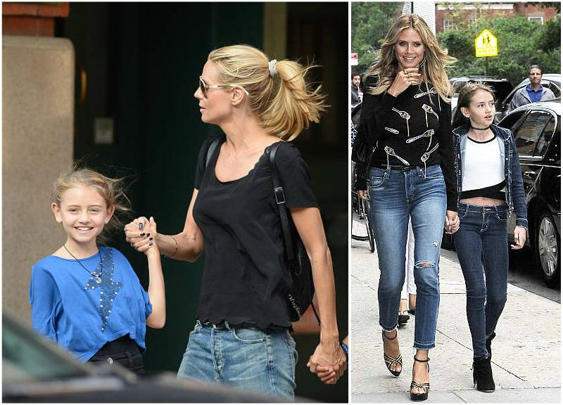 Story of German Supermodel Heidi Klum and her family Kim Cattrall Dated
