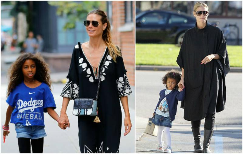 Heidi Klum's children - daughter Lou Sulola Samuel