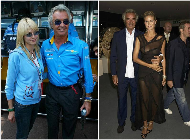Heidi Klum's family - ex-boyfriend Flavio Briatore