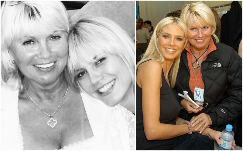 Heidi Klum's family - mother Erna Klum