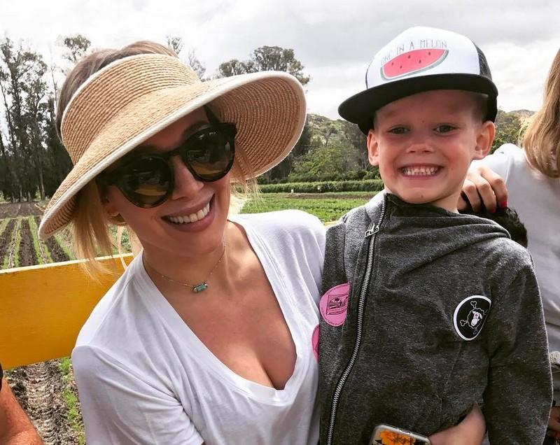 Hilary Duff's children - son Luca Cruz Comrie