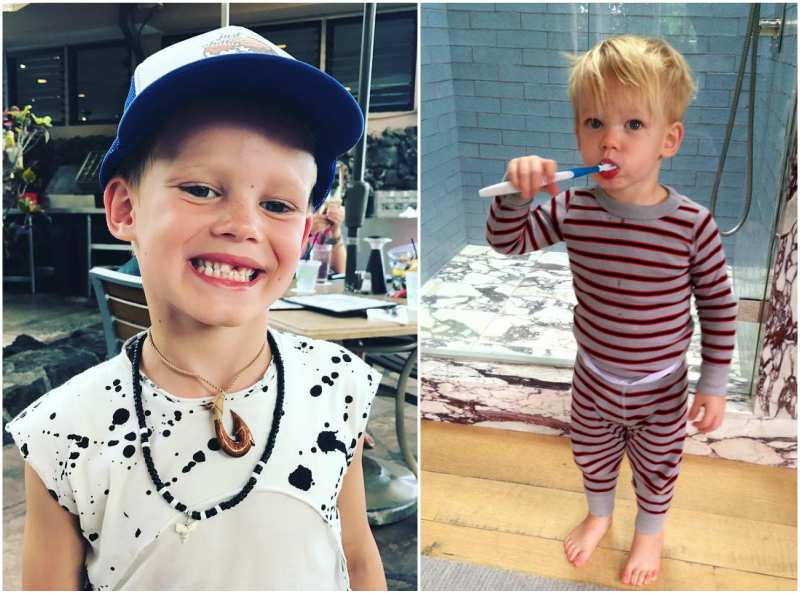 Hilary Duff's children - son Luca Cruz Comrie