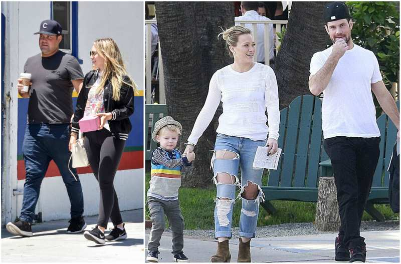 Hilary Duff's family - ex-husband Mike Comrie