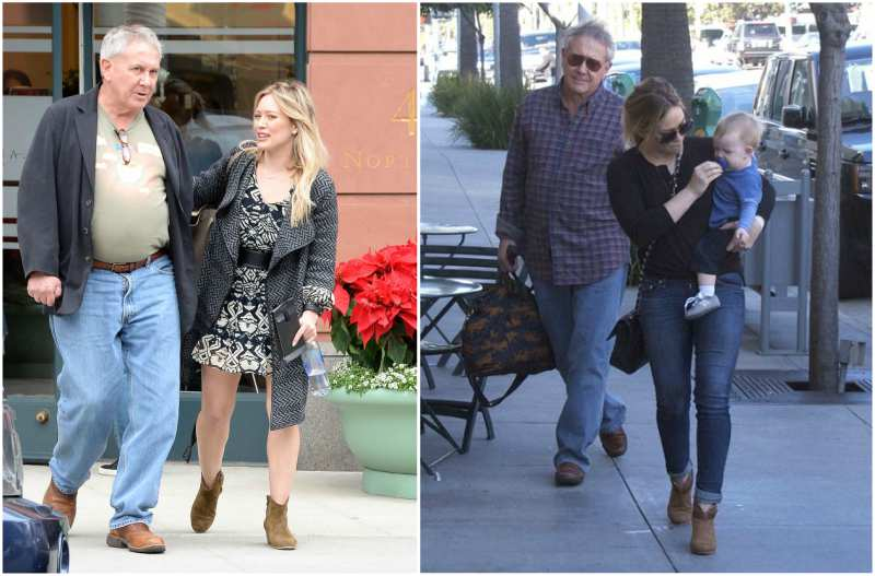 Hilary Duff's family - father Robert Duff