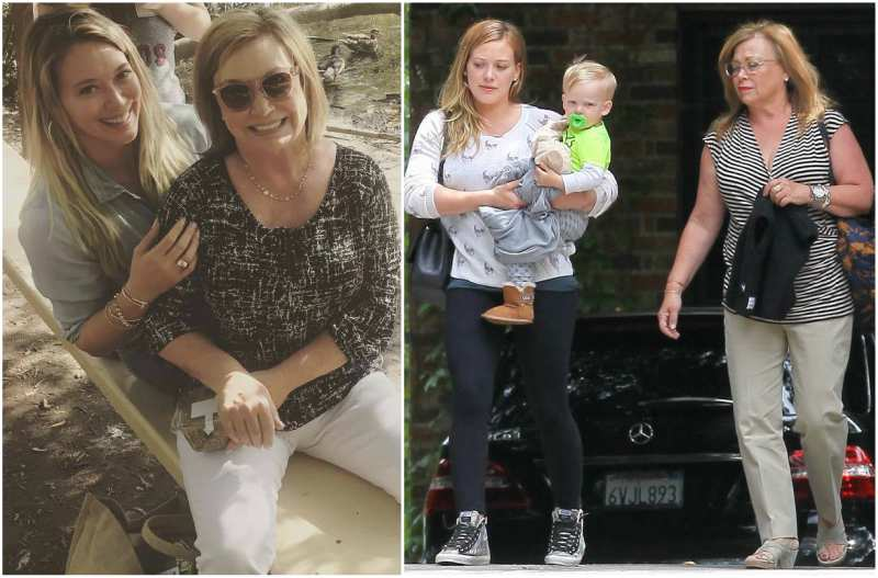 Hilary Duff's family - mother Susan Colleen Duff