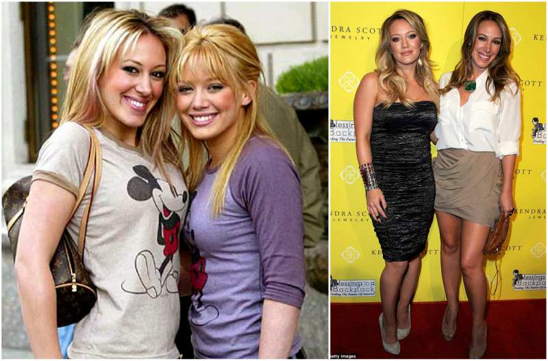 Hilary Duff's siblings - sister Haylie Katherine Duff