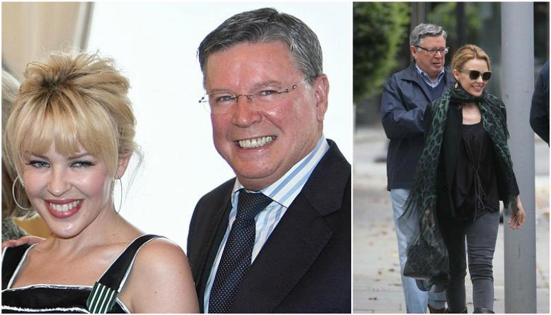 Kylie Minogue's family - father Ronald Charles Minogue