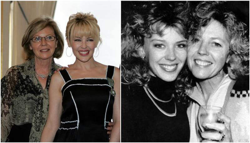 Kylie Minogue's family - mother Carol Jones