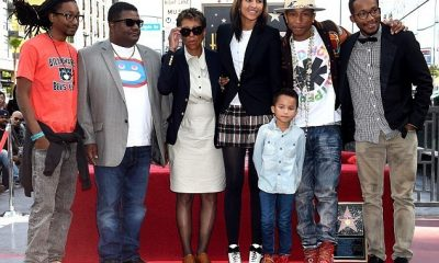 Pharrell Williams' family: parents, siblings, wife and kids
