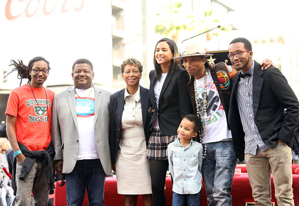 Pharrell Williams' family