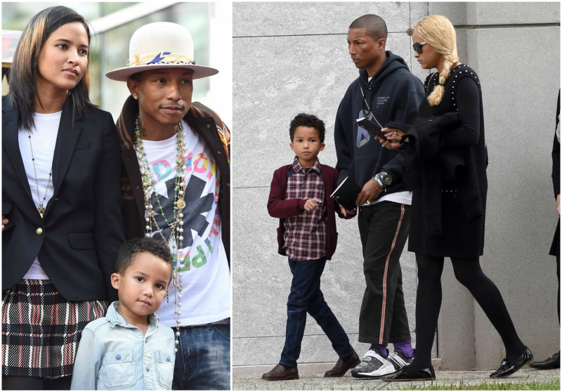 Pharrell Williams' children - son Rocket Ayer Williams