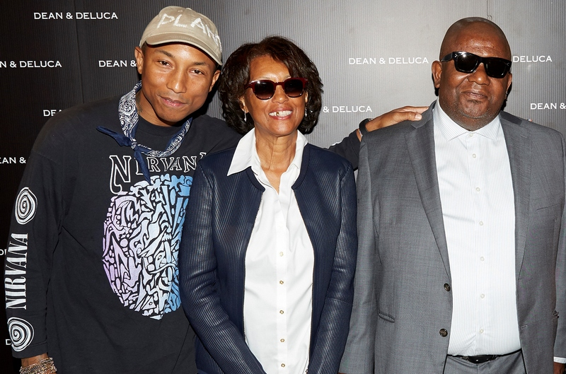 Pharrell Williams' family - parents