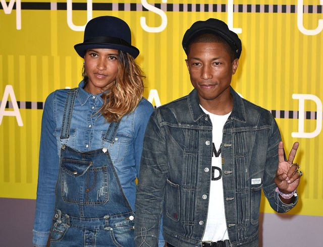 Pharrell Williams' family - wife Helen Lasichanh