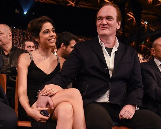 Quentin Tarantino's family - girlfriend Daniella Pick