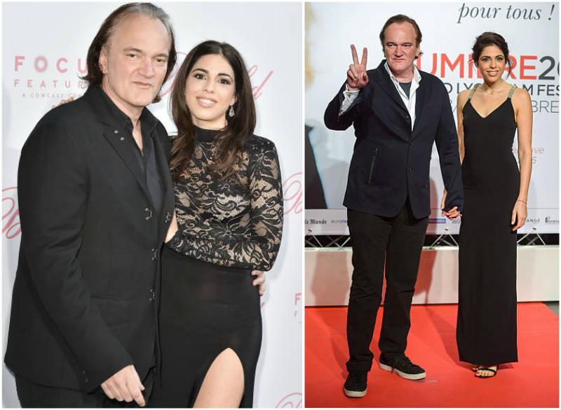 Quentin Tarantino's family - partner Daniella Pick