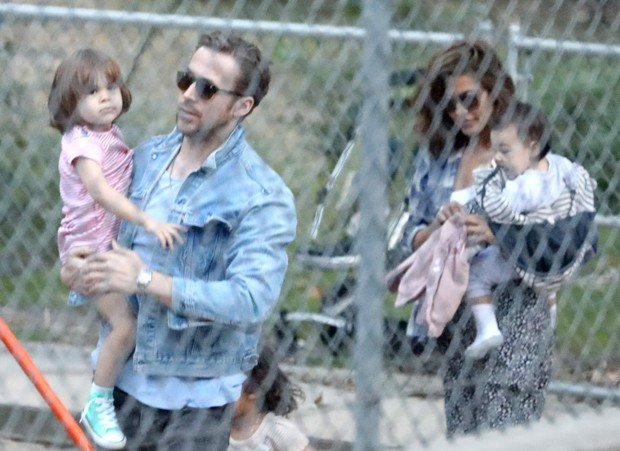 Ryan Gosling and Eva Mendes' children