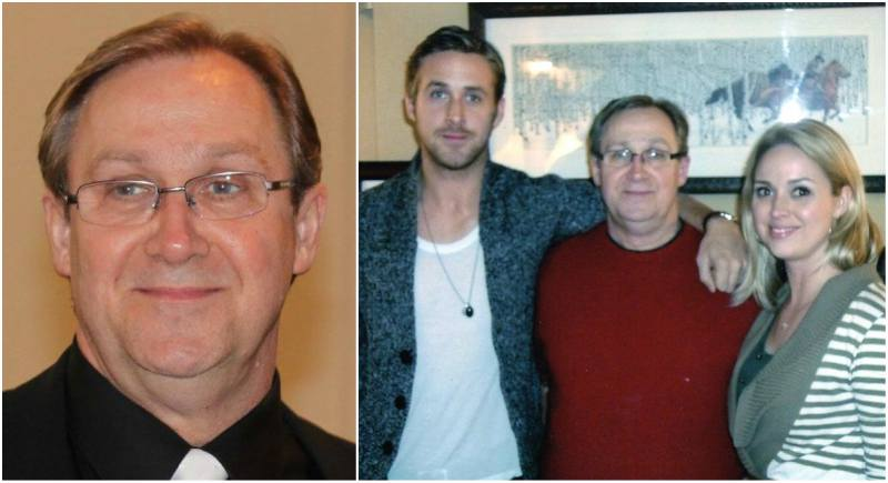 Ryan Gosling's family - father Tom Gosling