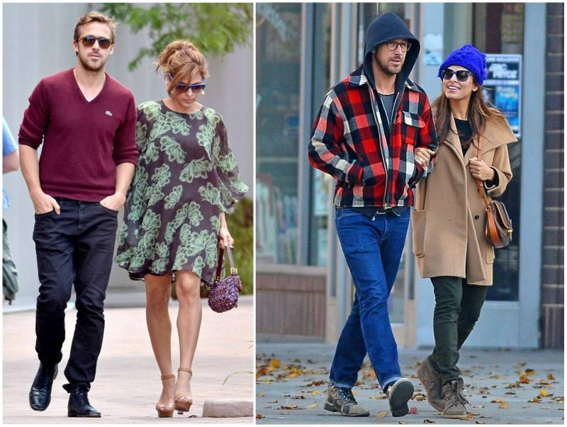 Ryan Gosling's family - partner Eva Mendes