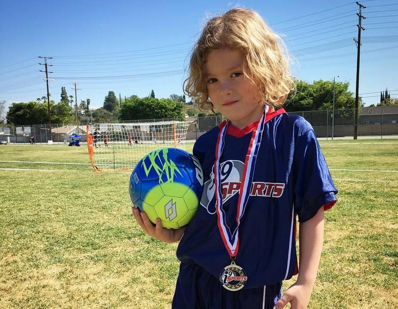 Tori Spelling's children - son Finn Davey McDermott