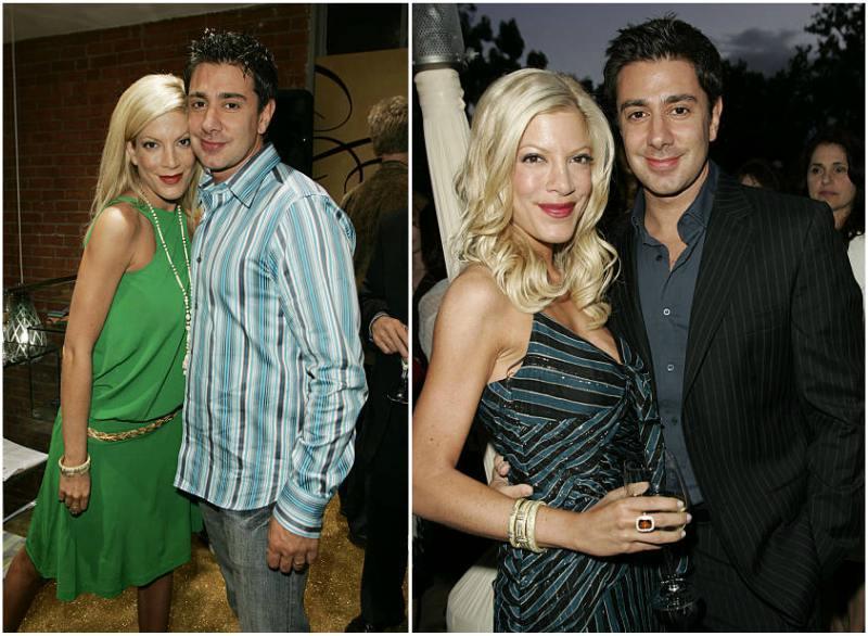 Tori Spelling's family - ex-husband Charlie Shanian