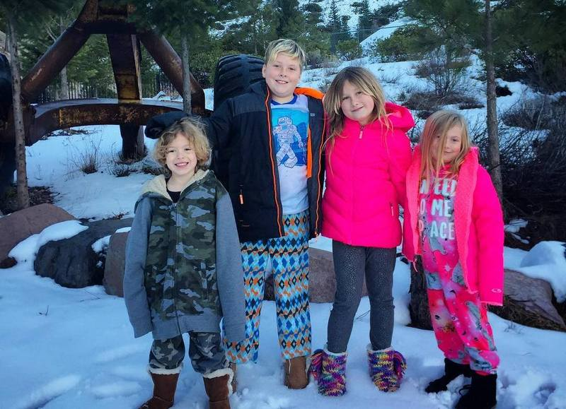 Tori Spelling's children
