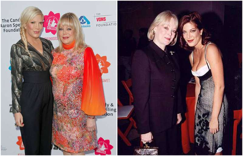 Tori Spelling's family - mother Candy Spelling