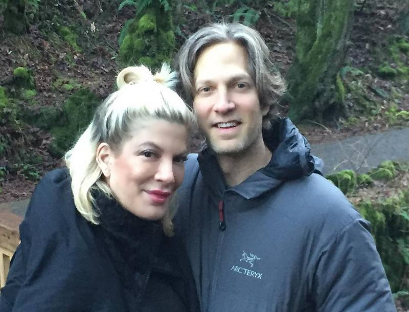 Tori Spelling's siblings - brother Randy Spelling
