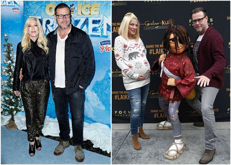 Tori Spelling's family - husband Dean McDermott