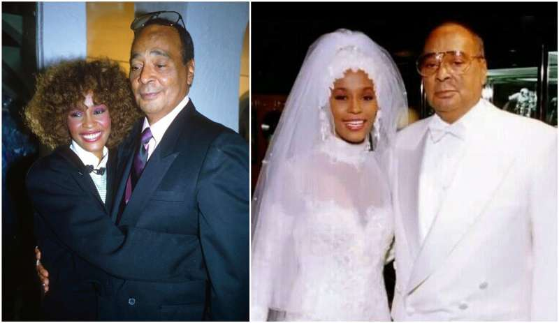 Whitney Houston's family - father John Russell Houston
