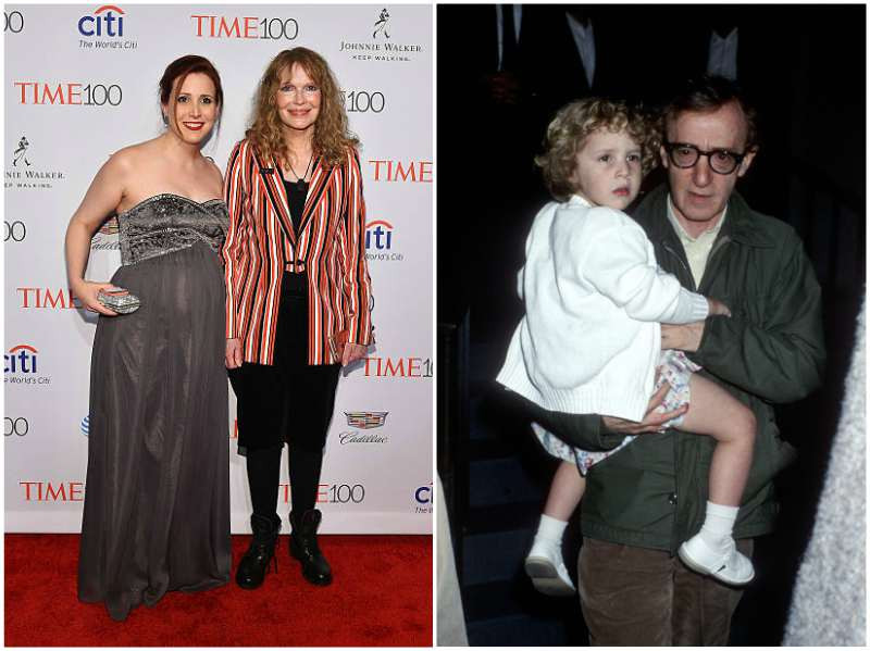 Woody Allen's children - adopted daughter Dylan Farrow