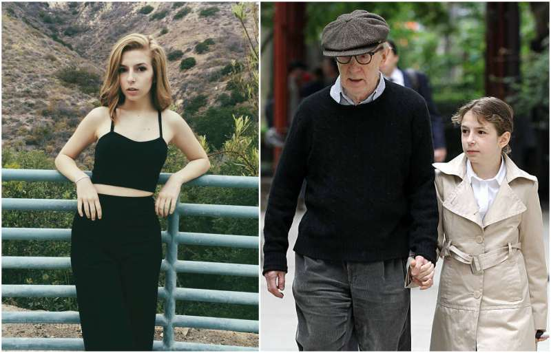 Woody Allen's children - adopted daughter Manzie Tio Allen