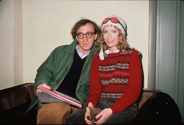 Woody Allen's family - ex-wife Mia Farrow