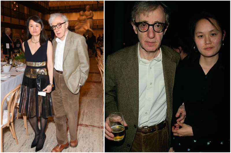 Woody Allen's family - wife Soon-Yi Previn