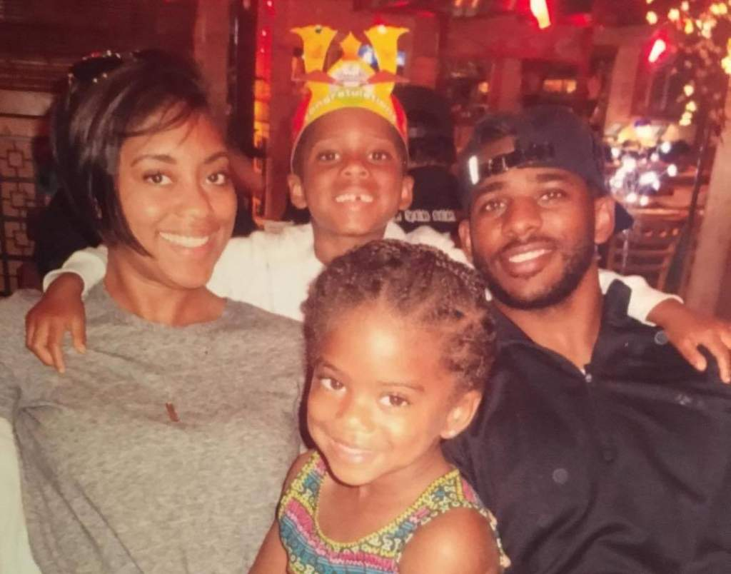 Chris Paul's family - wife and kids