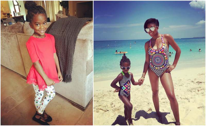 Chris Paul's children - daughter Camryn Alexis Paul