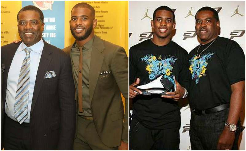 Chris Paul's family - father Charles Paul