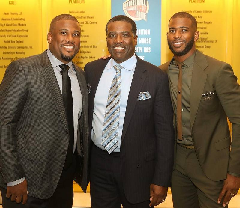 Chris Paul's family - brother J. Paul and father Charles